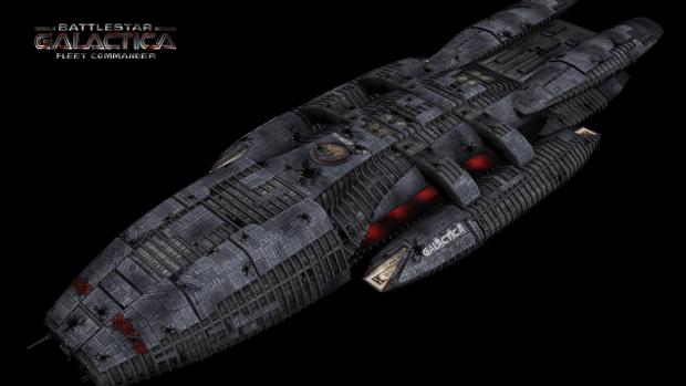 Battlestar Galactica... damaged