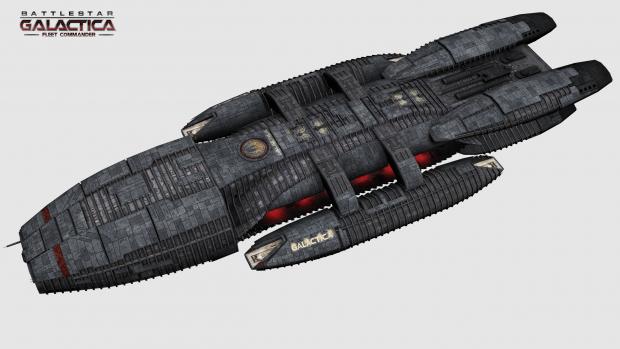 Battlestar Galactica - New texture