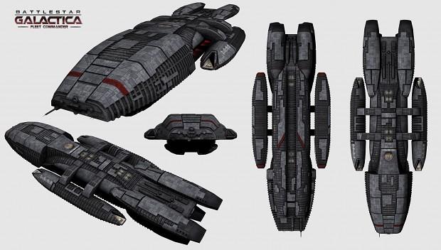 Battlestar Galactica Fleet Commander - Ambitieux mais comment ? Bsglast