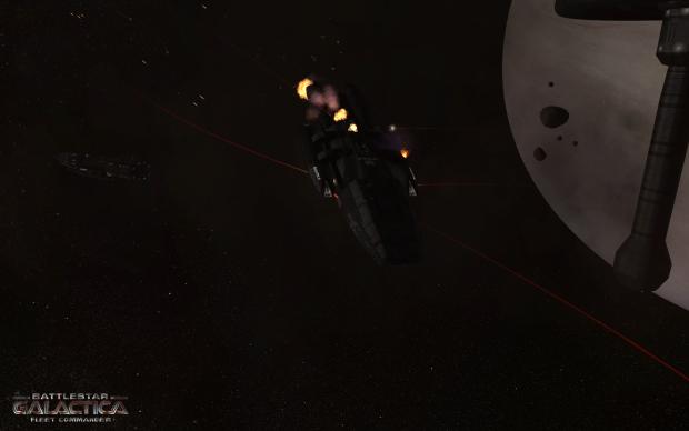 Battlestar Galactica Fleet Commander - Ambitieux mais comment ? Galactica_damages