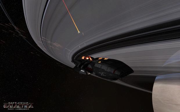 Battlestar Galactica Fleet Commander - Ambitieux mais comment ? Galactica_firing