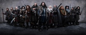 The Thirteen Dwarves in the Hobbit Film