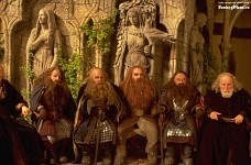 Dwarves at the Council Of Elrond