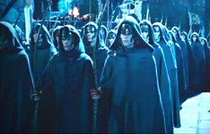 Elves of Lothlorien at Helms Deep