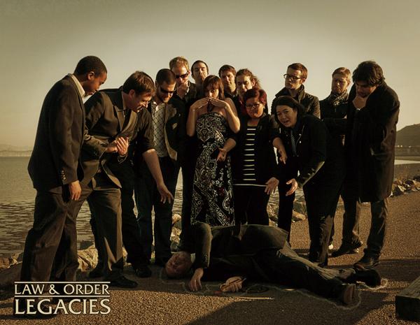 Law & Order Legacies team
