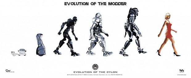 evolution of a modder