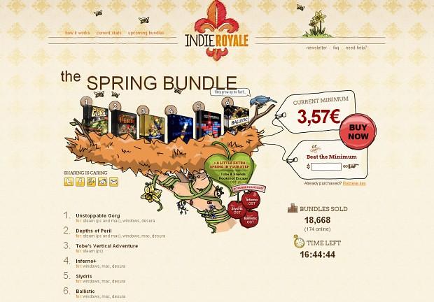 IndieRoyale Spring Bundle