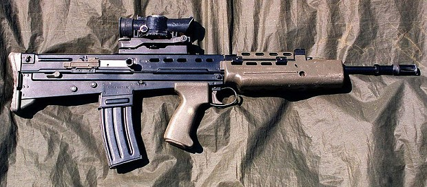 L85 main Assault Rifle of the British Army