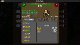 Adventurer Manager Screenshots
