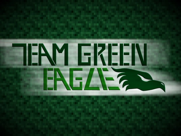 Team Green Eagle Wallpaper