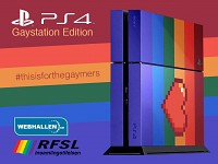 PlayStation 4 - With lots of colors.