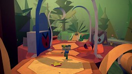 PS Vita Title - Tearaway