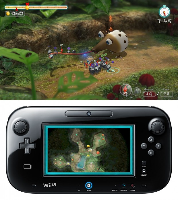 Wii u Launch titel : Pikmin 3