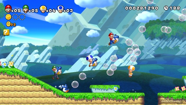 Wii u Launch titel : New Super Mario bros Wii u