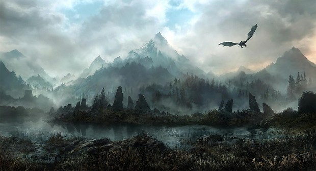 Dragon Landscape