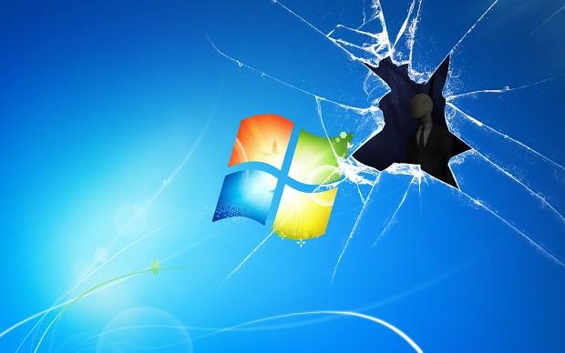 Slenderman In Windows Wallpaper Image Le Fancy Wallpapers Mod Db
