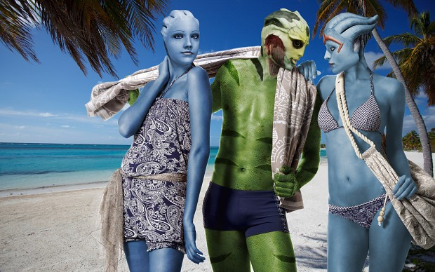 Mass Effect Beach Holidays