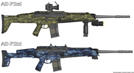 AS-75 Tactical Assault Rifle