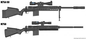 M75 Sniper Rifle