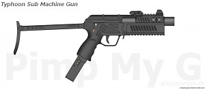 Typhoon Submachine Gun