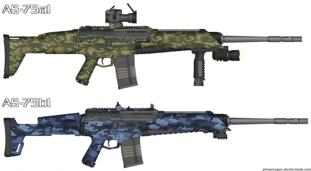 AS-75 Tactical Assault Rifle