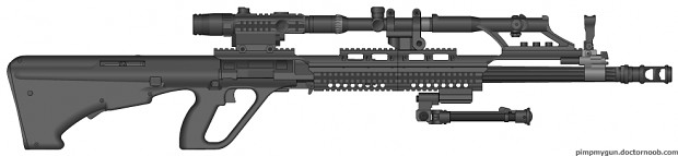 MMD-15 Thunderstrike (Sci-Fi Sniper Rifle)