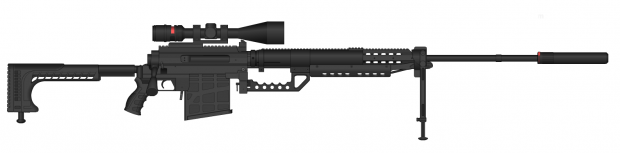 20mm Bolt Sniper Rifle