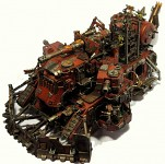Ork Battle Fortress Conversion Looted