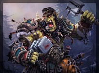Orc going berserk