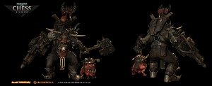 Ork Warboss in regicide