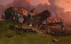 Bomba plane airfield