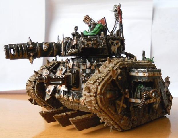 OrK Leman Wagon Conversion looted