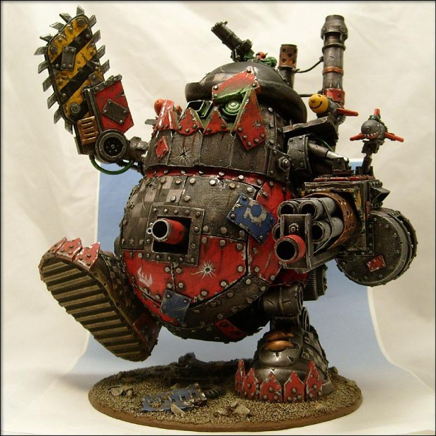 stompa conversion image - Orc clan and Orks fantasy and monsters fan group - Mod DB
