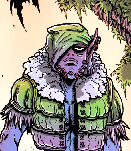 orc stain comic book