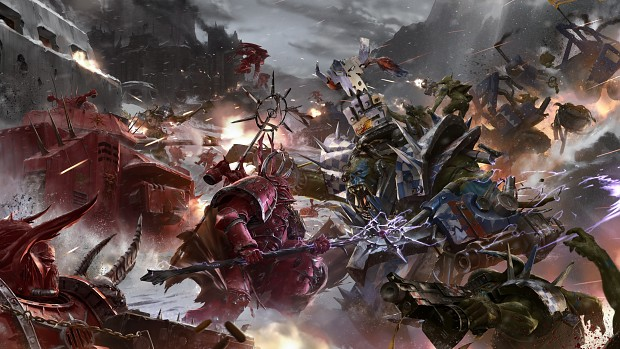 Orks Battle without fear