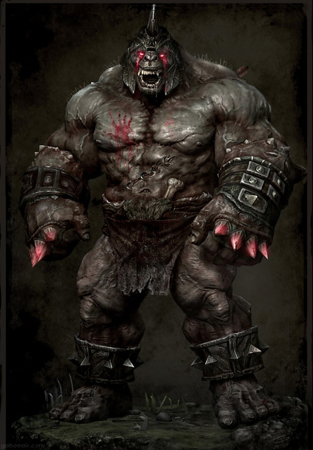 orc wallpaper great one image - Orc clan and Orks fantasy and monsters fan group - Mod DB