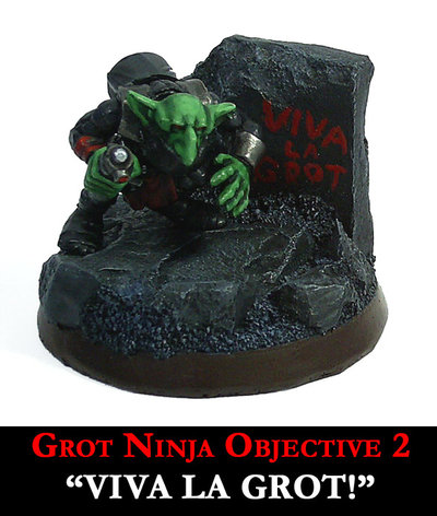 Grot Ninja - Viva La Grot