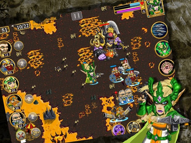 FREE rts game - warlords - android 4.0,i phone