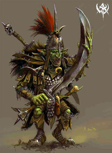 warhammer orcs and goblins army book review