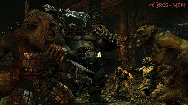 of orcs and men game fight