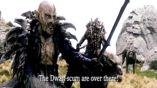 the hobbit movie pic 5 image - Orc clan and Orks fantasy and monsters    Orc Leader Hobbit