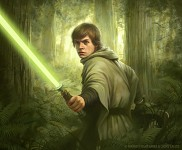 Star Wars TCG Endor Luke