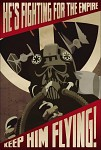 TIE Fighter Propaganda Poster