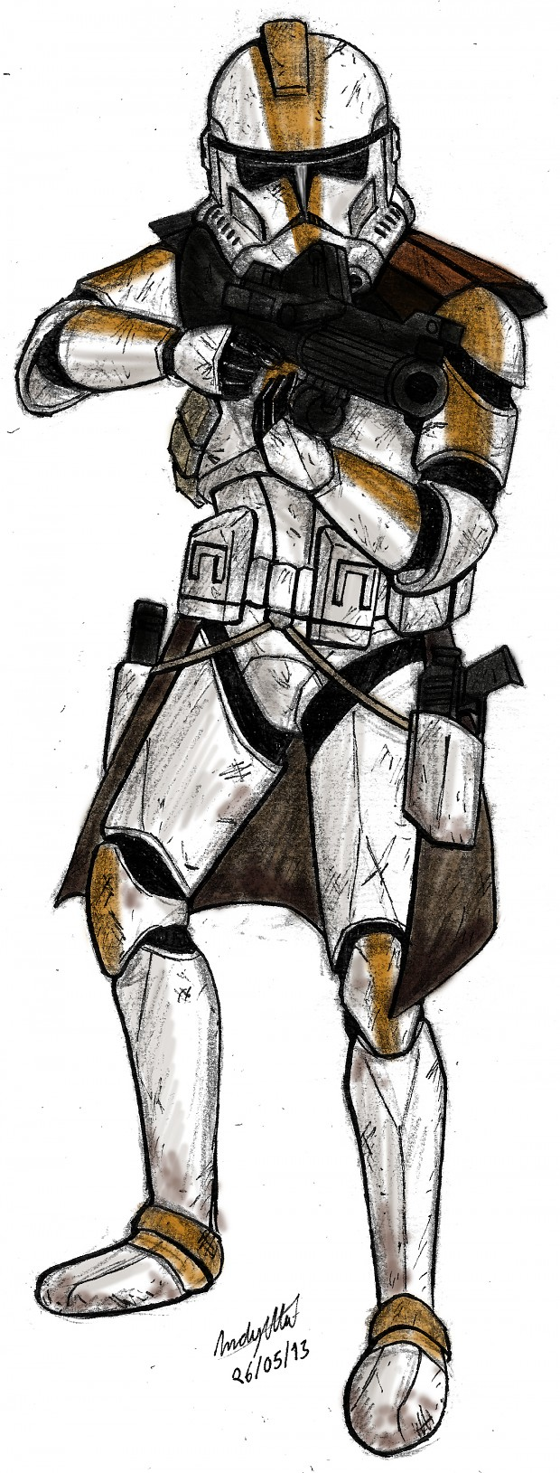 327th Star Corps Clone Trooper