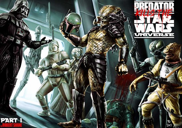 Predator Kills the Star Wars Universe