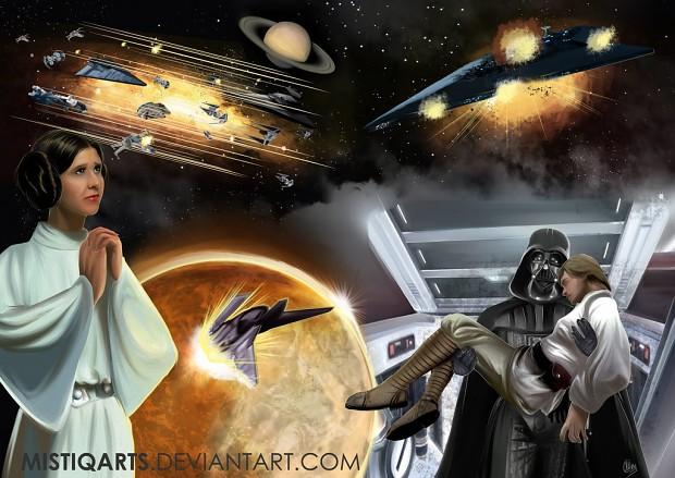 Star Wars Fan Cover