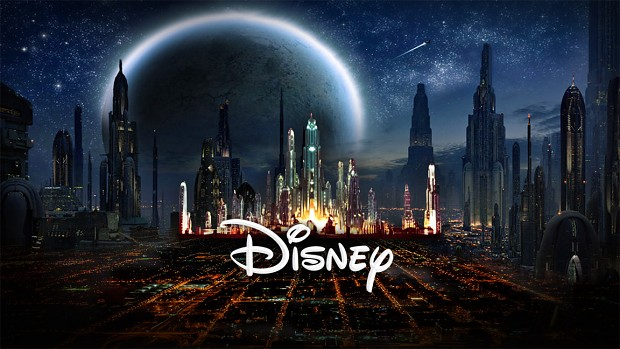 Star Wars Episode 7 Disney Logo