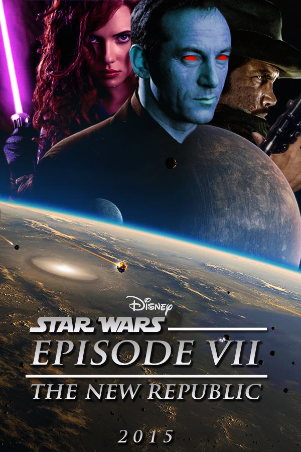 Star Wars Episode VII Poster