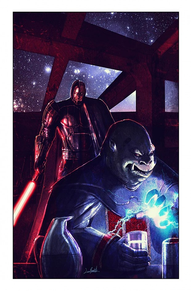 Star Wars Legacy 6 Cover