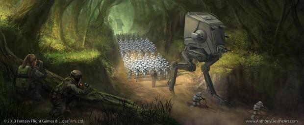 Star Wars TCG Forward Reconnaissance
